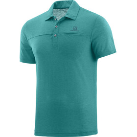 Salomon Explore Shortsleeve Shirt Men blue